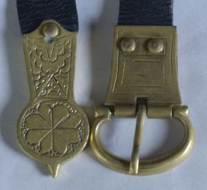 Henry's Buckle top view