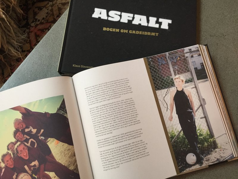 Asphalt. The book about street sports