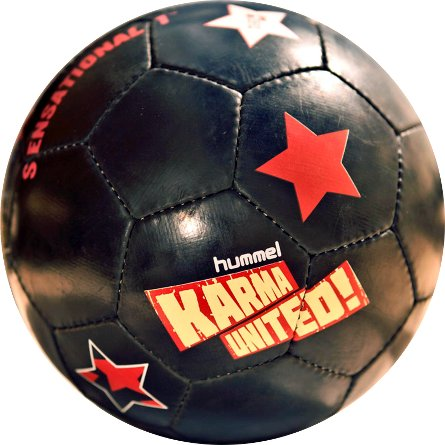Soccer ball Sensational black 01