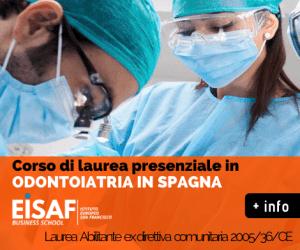 Laurea in odontoiatria in Sapgna