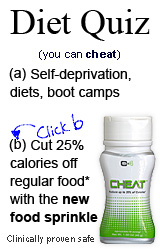 Cheat on a Diet Quiz