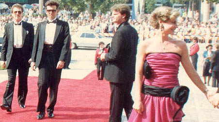Social networking is a similar feeling to walking down the red carpet at the academy awards.