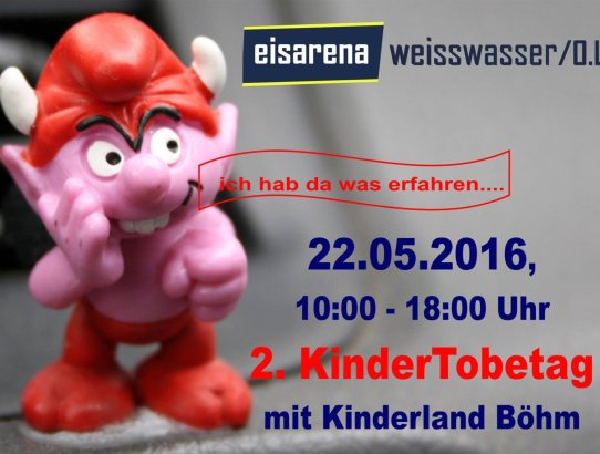 Kindertobetag am 22.05.2016