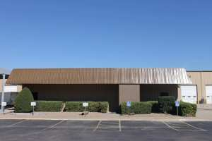 Exterior commercial metal painting.