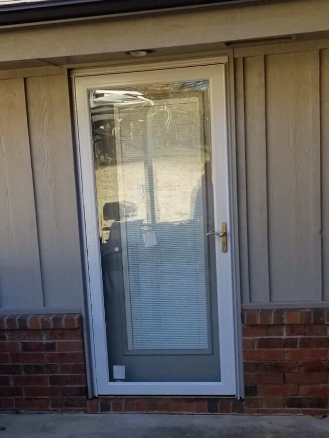 Low-E Anderson Storm Door