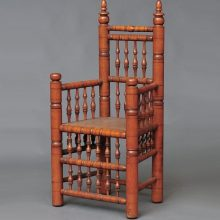 Sharon Fiffer and the Great Brewster Chair