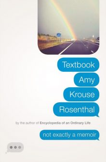 Textbook Amy Krouse Rosenthal