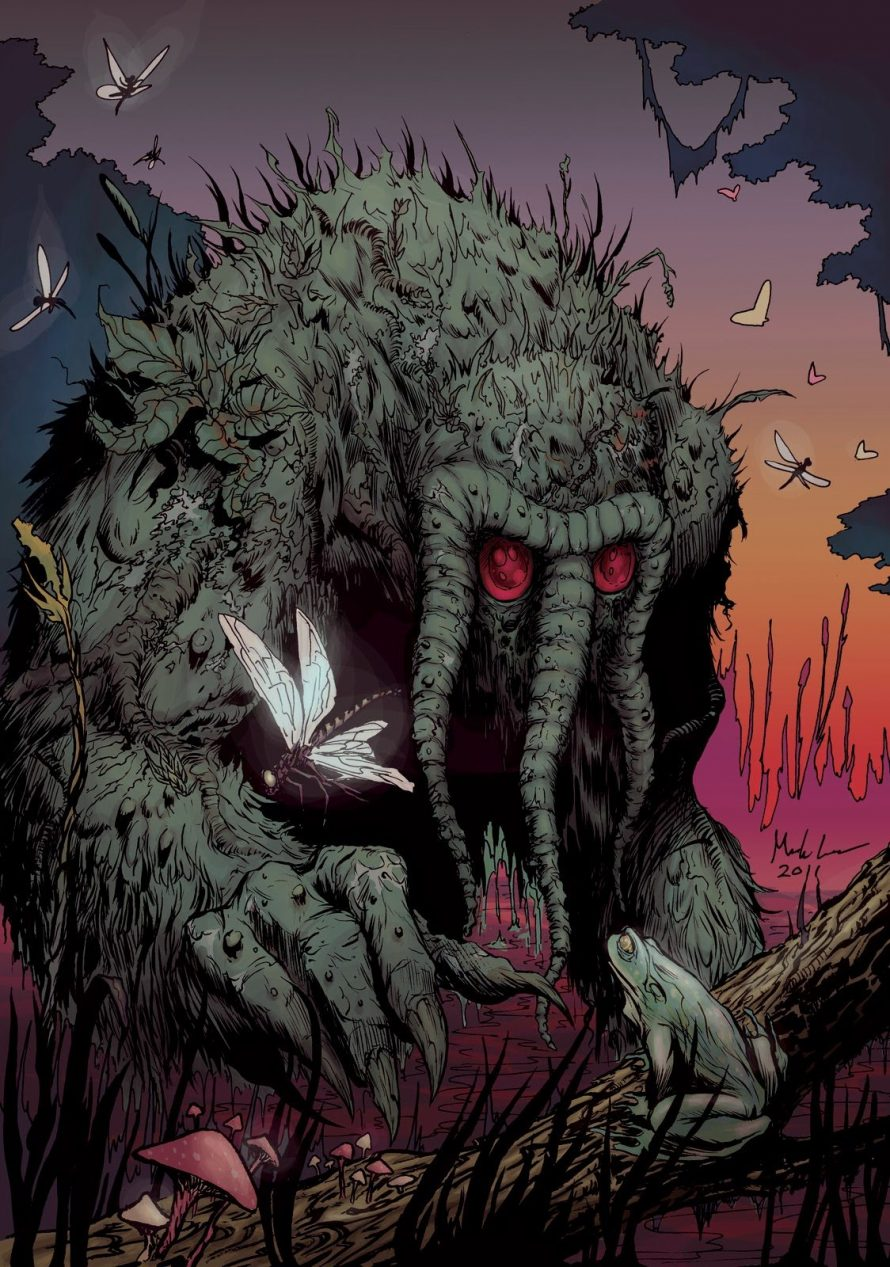 Man-Thing Might Give You Goosebumps