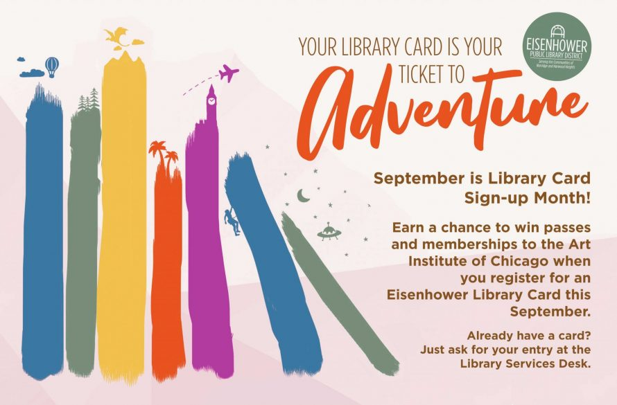 Win Art Institute Passes for Library Card Sign-up Month