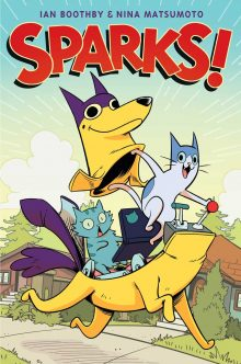 3rd-5th Grade Graphic Novel Club: Sparks!