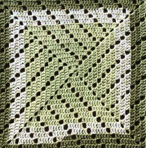 Crochet-a-Long: Learn Filet Crochet Baby Blanket