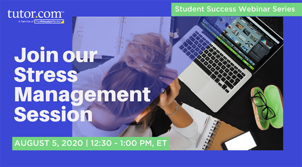 2020 Student Success Webinar - Stress Mgmt