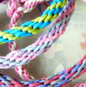 Let's Make: Kumihimo Braided Bracelets