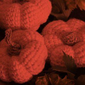 Crochet a Harvest Pumpkin