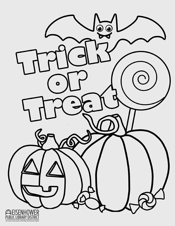 Printable Halloween Pumpkin Page