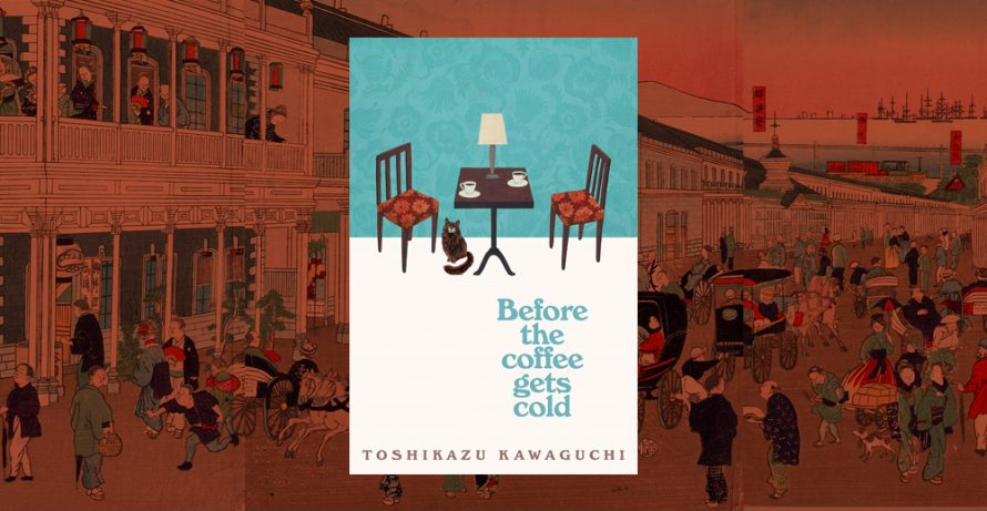 Hoopla Book Club: Before the Coffee Gets Cold