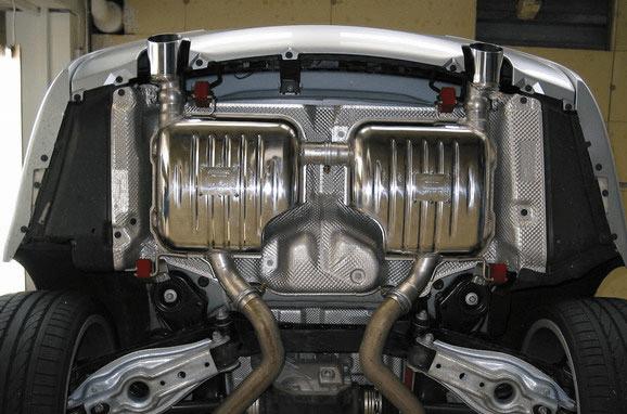 eisenmann bmw e92 e93 335i performance exhaust 2 x 102mm