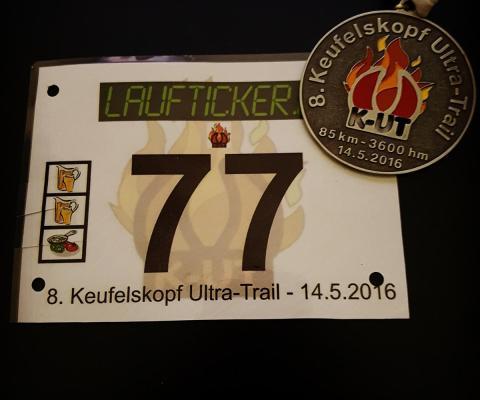 KUT 2016 – Laufverpflegung à la EisernerHans.