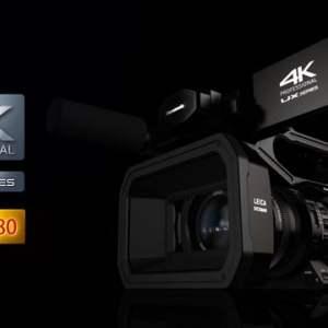 パナソニックの新4kハンドヘルドカムコーダーAG-UX180が発売となりました。