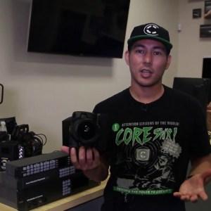 Blackmagic Design Pocket Cinema Camera 4K用Core SWX Powerbase EDGEバッテリー
