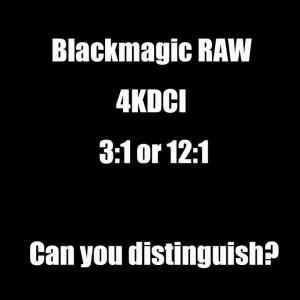 Blackmagic RAWの素晴らしさを感じました。