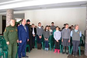 Патриотическая молодежная акция «Невская твердыня» прошла в Староминском районе