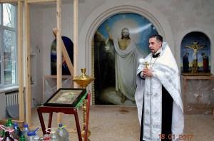 В храме блаженной Матроны Московской совершилось Великое освящение воды