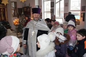 Ученики младших классов Приморско-Ахтарска посетили храм Новомучеников и исповедников Церкви Русской
