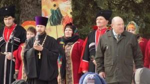 На Октябрьской площади ст. Ленинградской прошли масленичные гулянья