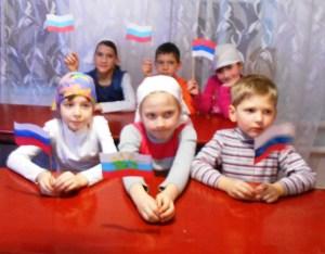 О защитниках земли Русской прошел урок в детской воскресной школе храма Воскресения Словущего г. Приморско-Ахтарска
