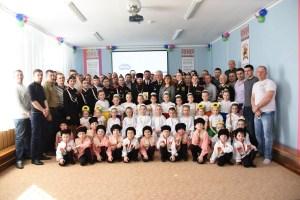 В Ленинградской прошла познавательно-развлекательная программа, посвященная Дню защитника отечества