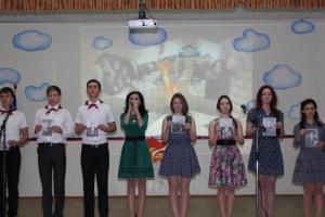Прошло мероприятие в ст. Переясловской «Районный конкурс агитбригад о мужестве, доблести и героизме защитников отечества»