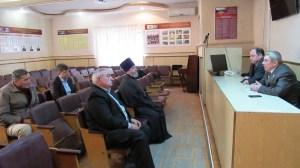 Руководитель епархиального отдела по взаимодействию с правоохранительными органами принял участие в заседании Общественного Совета
