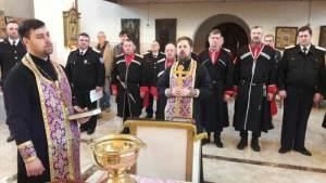В храме Покрова Пресвятой Богородицы станицы Старощербиновская принял присягу новый атаман станицы