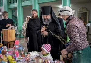 В кафедральном соборе Ейска состоялась благотворительная ярмарка