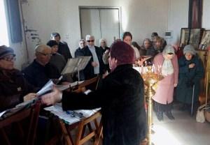 В храме Кубанской Степи прошла первая миссионерская Божетсвенная Литургия