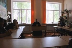 Священник провел встречу со студентами Кущевского технологического колледжа