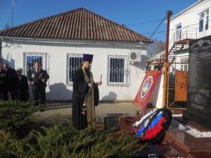 В Приморско-Ахтарске почтили погибших сотрудников полиции