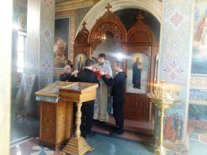 Светлый праздник Воскресения Христова отпраздновали в исправительной колонии п. Ахтарского