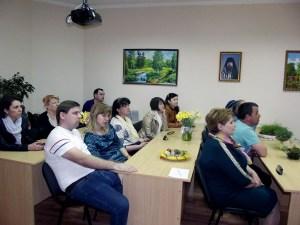 На Светлой седмице в храме Пантелеимона целителя станицы Каневской прошла пасхальная встреча для инвалидов