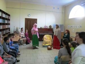 Детский праздник прошел на приходе храма Покрова Пресвятой Богородицы