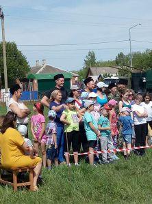 В станице Ленинградской состоялось соревнование для семей казаков «Папа, мама, я - казачья семья».
