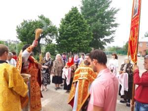 В станице Кущевской совершили богослужение в день отдания праздника Пасхи