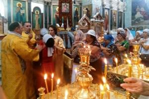 Семейный праздник прошел в каневском старинном храме