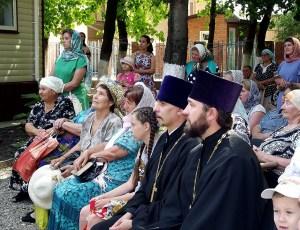 В храме великомученика и целителя Пантелеимона станицы Каневской отметили престольный праздник