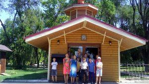 Детская площадка храма Казанской иконы Божьей Матери совершила экскурсию по храмам Староминского благочиния