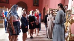 Встреча с волонтерами Уманского, Кущевского и Староминского благочиний перед встречей Патриарха