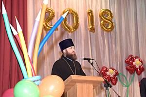 В п. Комсомолец прошло торжественное мероприятие, посвященное Международному Дню учителя.