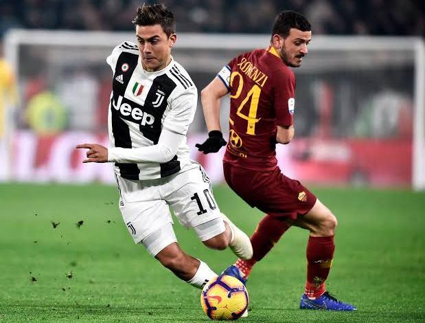imagem ilustrativa confronto juventus x roma