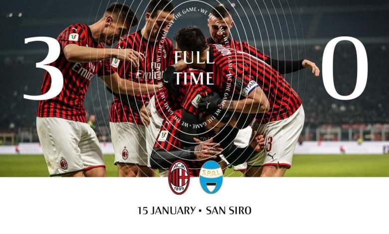 Campeonato italiano : Milan x SPAL